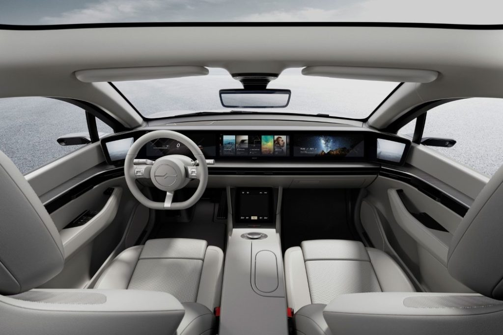 Holt Automotive Recruitment News Sony Vision-S Interior View
